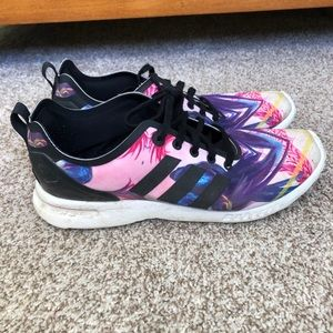 Adidas Originals ZX Flux Smooth W Floral Sneakers